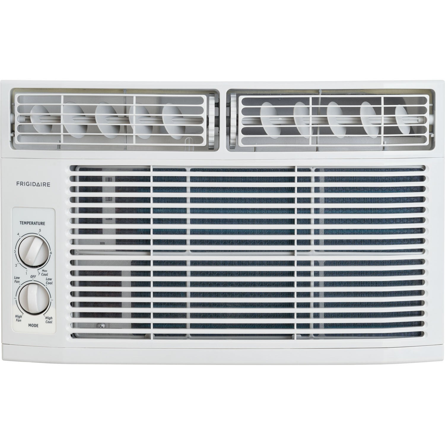Frigidaire White FFRA0611R1 6,000 BTU 115V Window-Mounted...