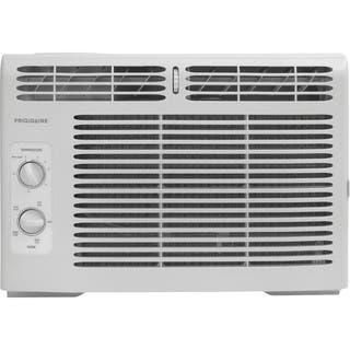 Frigidaire White FFRA0511R1 5,000 BTU 115V Window-Mounted Mini-Compact Air Conditioner with Mechanic|https://ak1.ostkcdn.com/images/products/11582986/P18523904.jpg?impolicy=medium