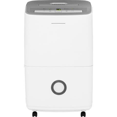 Frigidaire White FFAD5033R1 50 pt. Dehumidifier with Effortless Humidity Control