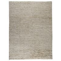 M.A.Trading Hand-Woven Indo Nature White/ White Rug (8'3 x 11'6)