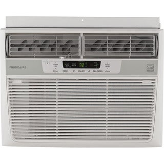 Frigidaire FFRE1233S1 12,000 BTU 115V Window-Mounted Compact Air Conditioner with Temperature Sensing Remote Control - White