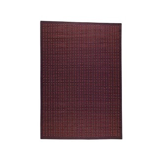 M.A.Trading Hand-Woven Indo Palmdale Brown Rug (8'3 x 11'6)