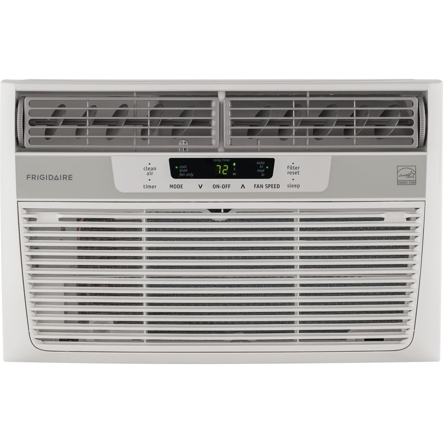 Frigidaire White FFRE0833S1 8,000 BTU 115V Window-Mounted...