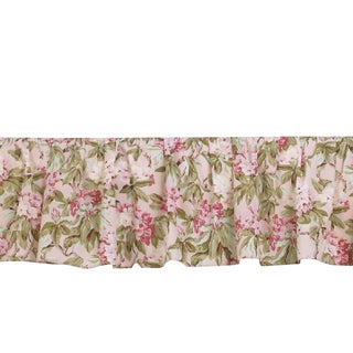 Tea Party Cotton Bedskirt