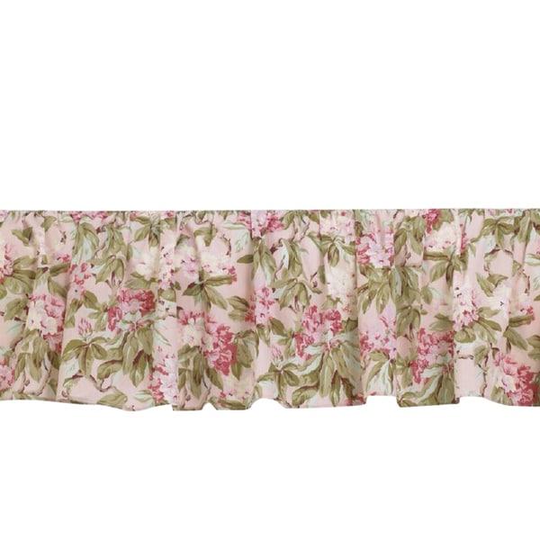 Tea Party Cotton Bedskirt