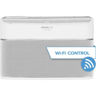 Frigidaire Gallery FGRC0844S1 - 8,000 BTU Cool Connect Smart Room AC w/ Wifi Control - White