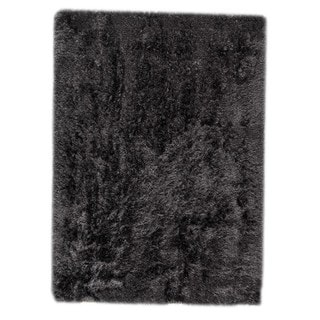 Hand-woven Indo Dubai Charcoal Rug (8'3 x 11'6)