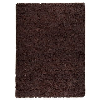 M.A. Trading Hand-woven Indo Berber Brown Rug (9' x 12')