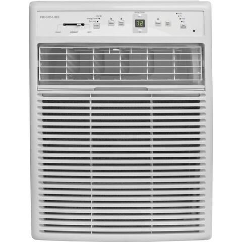 Frigidaire FFRS0822S1 - 8,000 BTU Window-Mounted Slider / Casement Air Conditioner - White