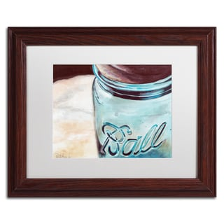 Jennifer Redstreake 'Ball Jar' Matted Framed Art