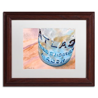 Jennifer Redstreake 'Atlas Jar' Matted Framed Art