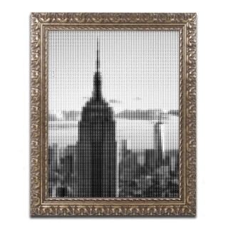 Philippe Hugonnard 'Pixels Print NYC' Ornate Framed Art