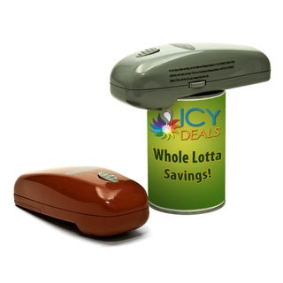 Handy Portable Battery Powered Can Opener