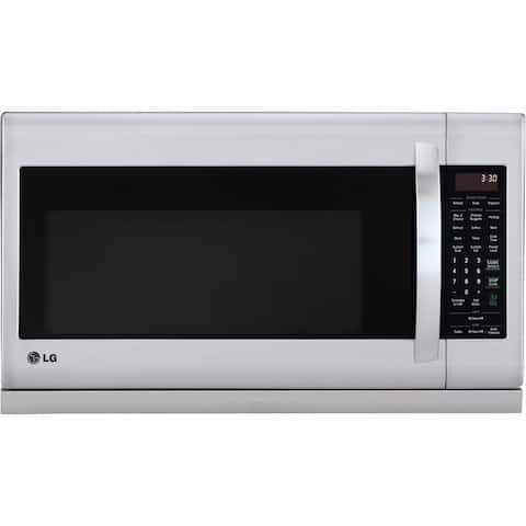 2.2 cubic feet Over the Range Microwave Oven - Stainless Steel