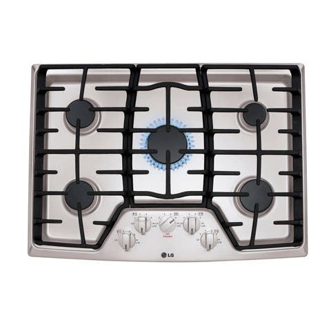 30 Inch 5 Sealed Burner Gas Cooktop