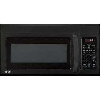 1.8 cubic feet Over the Range Black Microwave Oven