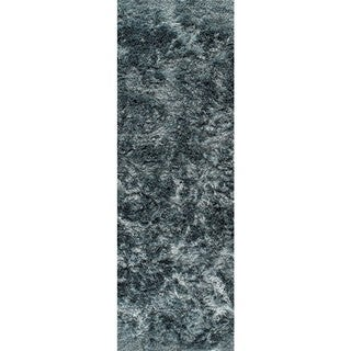 M.A. Trading Hand-woven Indo Dubai Turquoise Rug (2'8 x 7'10)
