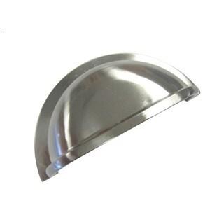 Brushed Nickel Cup Handle (Set of 15)