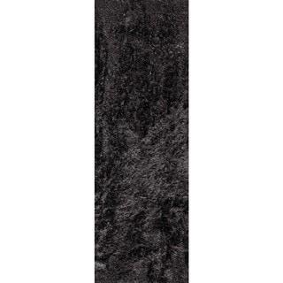 Hand-Woven Indo Dubai Charcoal Rug (2'8 x 7'10)