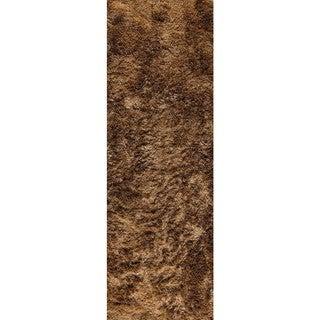 Hand-woven Indo Dubai Hazelnut Rug - 2'8 x 7'10