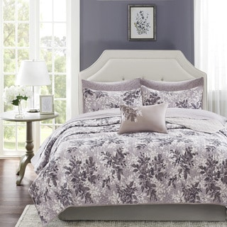 Madison Park Essentials Abbey Complete Coverlet Set