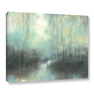 ArtWall Norman Wyatt JR's 'Overcast' Gallery Wrapped Canvas