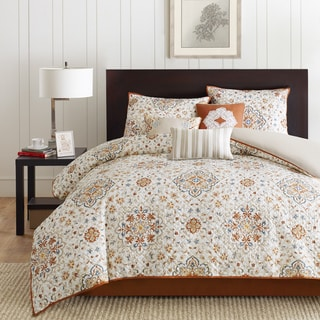Madison Park Maya 2-in-1 Duvet Cover/Coverlet Set
