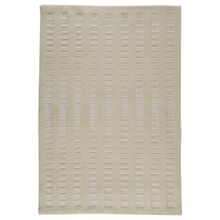 M.A. Trading Hand-knotted Indo Merano White Rug (5'6 x 7'10)