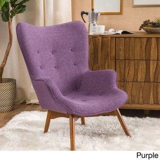 Hariata Fabric Contour Chair by Christopher Knight Home