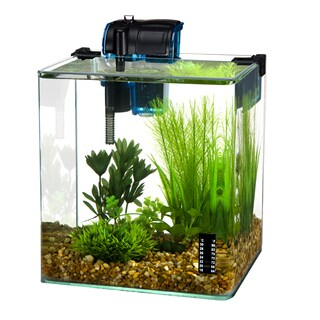 Penn Plax Vertex Aquarium Kit for Fish and Shrimp