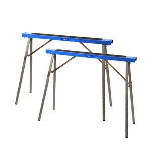 Hico Ush1100 Folding Metal Sawhorse Twin Pack