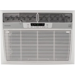 Frigidaire FFRE1533S1 15,100 BTU 115V Window-Mounted Median Air Conditioner with Temperature Sensing Remote Control