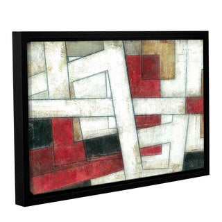 ArtWall Norman Wyatt JR's 'Alignment' Gallery Wrapped Floater-framed Canvas