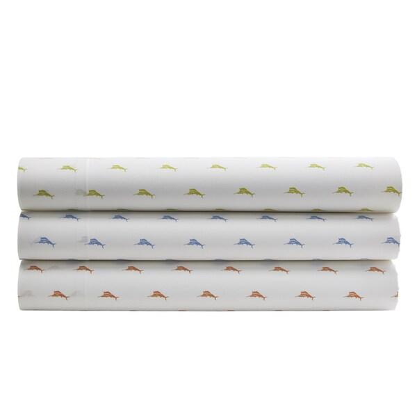 Tommy Bahama Sailfish Cotton Percale Sheet Sets