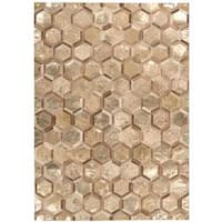 Michael Amini City Chic Amber/Gold Area Rug by Nourison