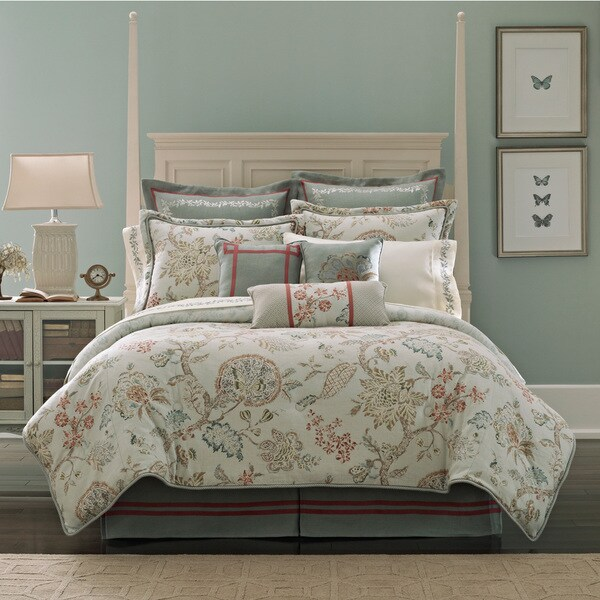 Shop Croscill Riviera 4 Piece Comforter Set Free