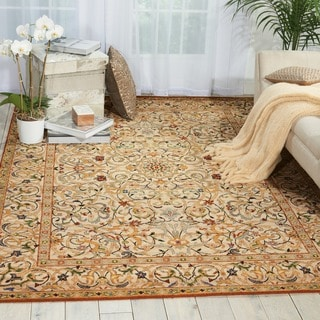 Nourison Timeless Copper Rug (5'6 x 8')