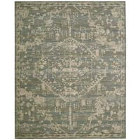 Nourison Silk Elements Azure Rug - 5'6 x 8'