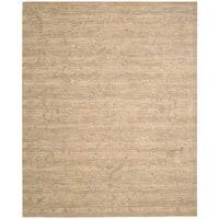 Nourison Silk Elements Sand Rug (5'6 x 8')