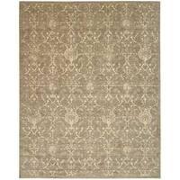 Nourison Silk Elements Moss Rug - 5'6 x 8'