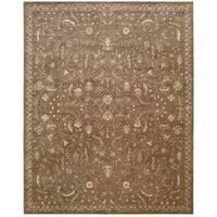 Nourison Silk Elements Cocoa Rug - 5'6 x 8'