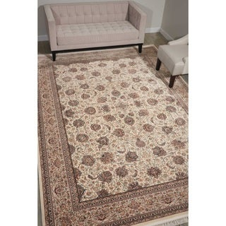 Nourison Persian Palace Cream Rug (5' x 7'7)