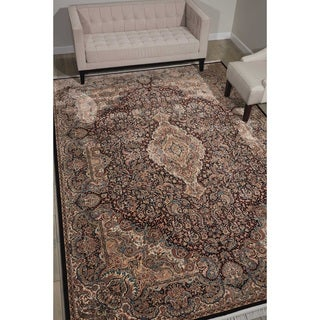 Nourison Persian Palace Navy Rug (5' x 7'7)