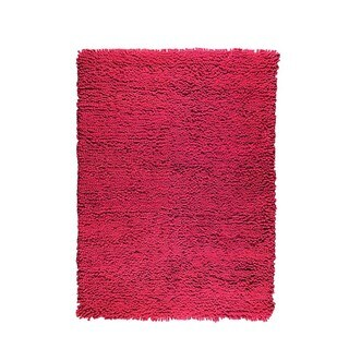 M.A. Trading Hand-woven Indo Berber FD-05 Red Rug (5'6 x 7'10)