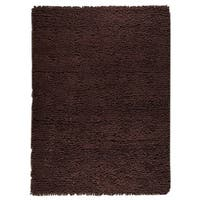 M.A.Trading Hand-woven Indo Berber Brown Rug (6'6 x 9'9)