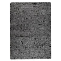 M.A.Trading Hand-woven Indo Berber Dark Grey Rug (6'6 x 9'9)