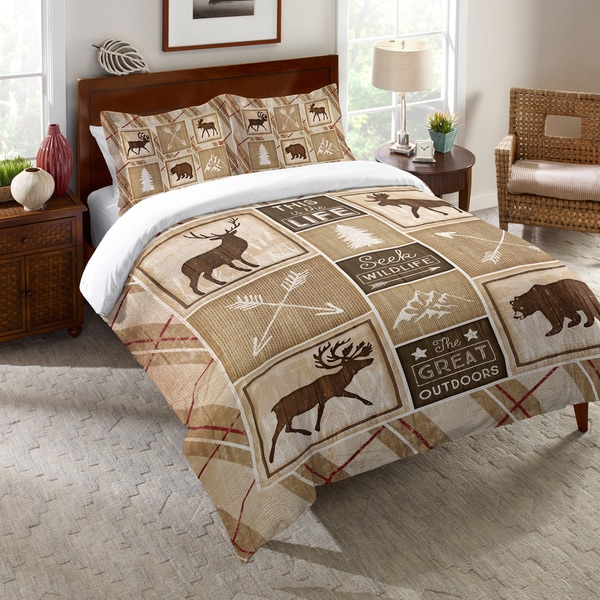 Laural Home Rustic Cabin Comforter