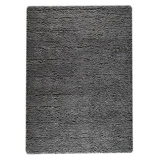 Handmade M.A. Trading Indo Berber Dark Grey Rug (India)