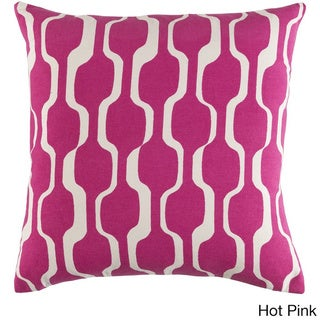 Decorative 18-inch Calle Down or Polyeste Filled Throw Pillow
