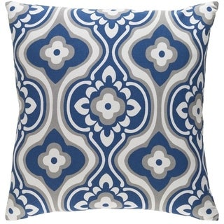 Decorative 18-inch Dalal Feather Down or Polyester Filled Throw Pillow
